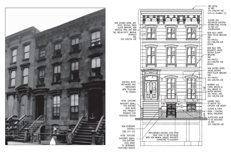 Gutleber Residence, Residential Brownstone Restoration Brooklyn, New York