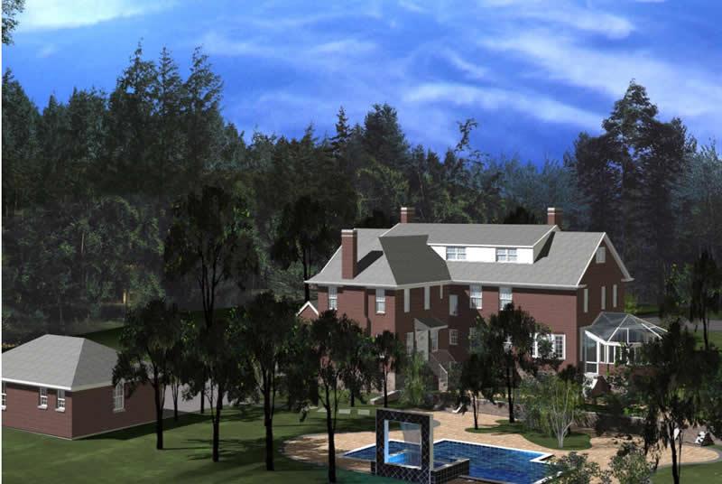Residential Architecture - Ambassador Residence Garden, New Rochelle, New York