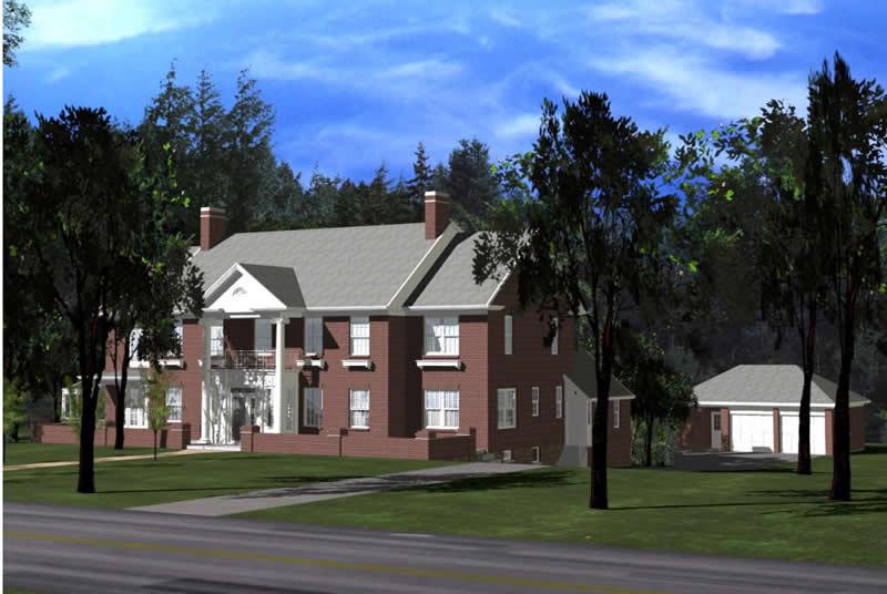 Residential Architecture - Ambassador Residence New Rochelle, New York