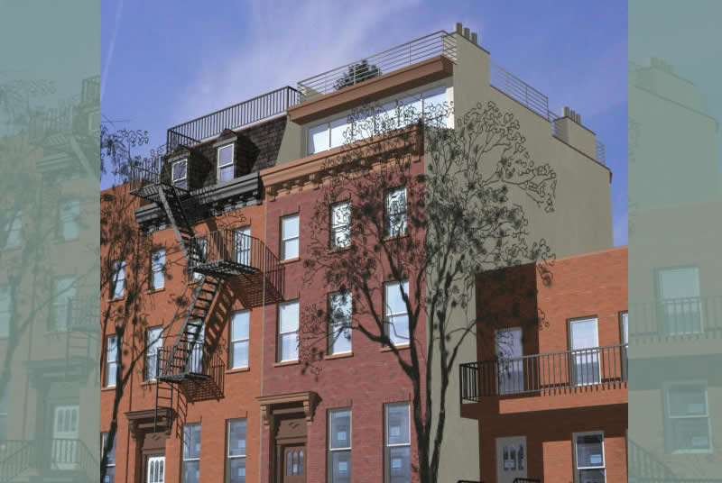 Galombik Residence, Residential Townhouse Renovation, Carroll Gardens, Brooklyn, New York