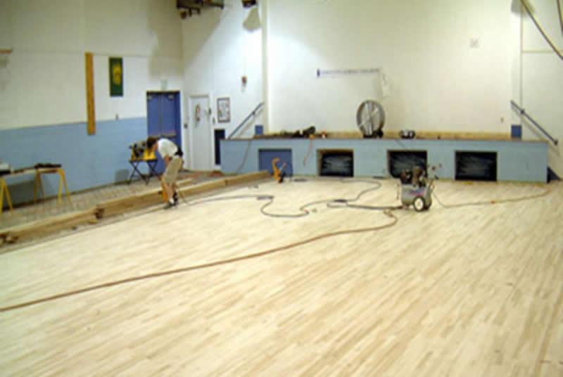 Manhattanville Houses Community Center Basketball
