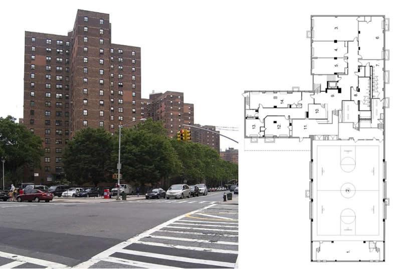 Manhattanville Houses Community Center, New York City Housing Authority
