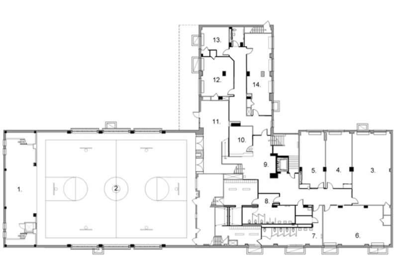 Manhattanville Houses Community Center Plan