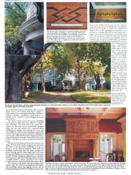 In The Press - George Cohan's Estate, Clems Labine's Period Homes, Sumer 2001