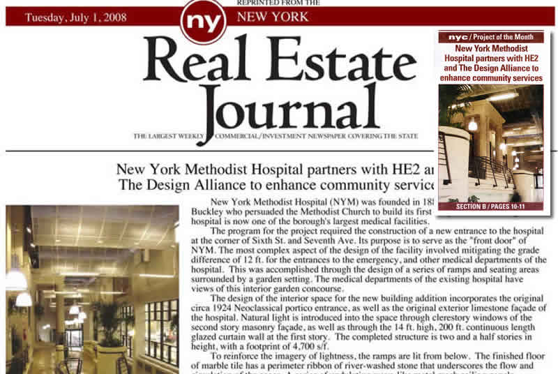 New York Methodist Hospital partners with HE2 and The Design Alliance To Enhance Community Services