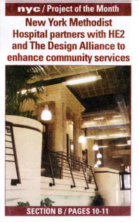 In The Press New York Methodist Hospital Project Of The Month