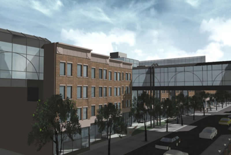Medical Office Building Development, New York Methodist Hospital, Park Slope, Brooklyn, NY