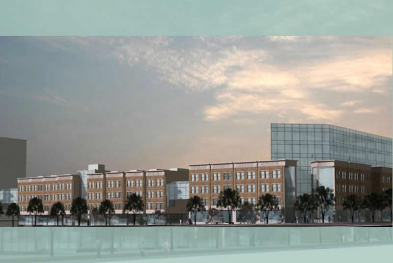 Medical Office Building Development, New York Methodist Hospital, Park Slope, NY