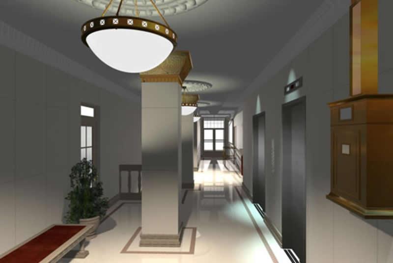 Professional Building Lobby Restoration, Medical Arts Building, Brooklyn Heights